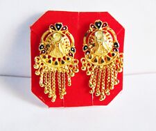 Indian Traditional Gold Plated Stud Earrings Jhumki New Wedding Fashion Jewelry
