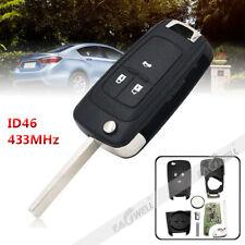 Replacement for Chevrolet Cruze Orlando Aveo 2010 - 2019 Remote Key Fob 3-Button