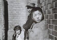 Werner Bischof Photo Print 30x21 Street Children Strassenkinder Pusan Korea 1952