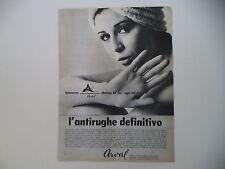advertising Pubblicità 1966 ARVAL