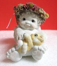 Dreamsicles Kitty And Me Cast Art Industries Cherub Angel Figurine