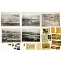 'SECRET' WWII USS Cavalier Six Assault Maps of D-Day Invasion at Saipan Relic