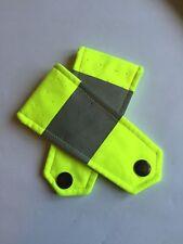Ex Police Hi Viz Yellow Jacket Epaulettes. Used Condition. 782.