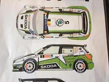 Racing43 DECAL F/ BELKITS SKODA FABIA S2000 EVO F. LOIX IEPER 2013 1/24 NEW