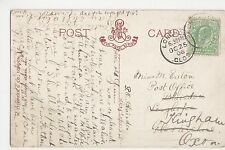 Longhope 1906 Postmark on Vintage Postcard, A862