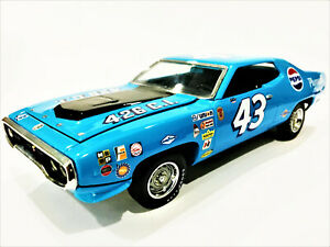 Richard Petty Franklin Mint #43 1971 Plymouth Roadrunner Custom Made Diecast