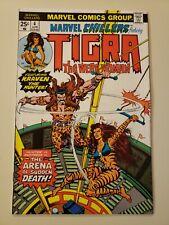 Marvel Chillers #4. April 1976. VF/NM 9.0 or Higher. Near Flawless. Tigra Kraven