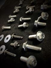 30pc KTM BODY BOLT KIT EXC MXC PLASTICS FENDERS SHROUDS 125 250 300 350 450 525