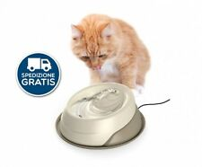 Lovely Ciotola Doppia In Plastica Con Portaciotola Antiformiche Per Cani E Gatti Record Dishes, Feeders & Fountains