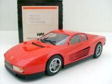 Ferrari White Metal Diecast Vehicles
