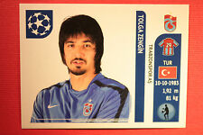 PANINI CHAMPIONS LEAGUE 2011/12 N 125 ZENGIN TRABZONSPOR WITH BLACK BACK MINT!!