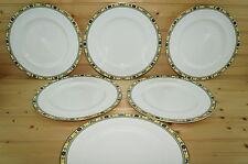 "Minton Ashworth S780 (6) Dinner Plates, 10 5/8"""