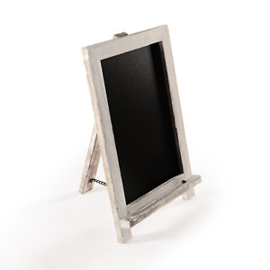 Vintage Chalkboard with Stand Black Memo Board for Menus & Other Displays M&W