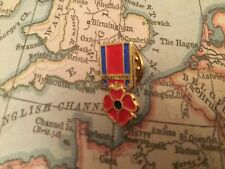 HM ARMED FORCES VETERAN POPPY MOD BRITISH ARMY RUC POLICE UDR pin badge 11