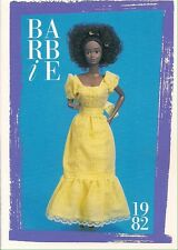 Barbie Fashion Collectable Card - Card No. 143: 1982 - Black Magic Curl Barbie