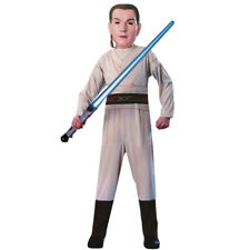 CHILDS OBI WAN KENOBI COSTUME STAR WARS JEDI PADAWAN FANCY DRESS 5-7 YEARS