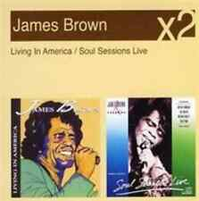 James Brown-Soul Sessions Live/living in America  CD NEU