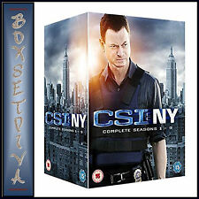 CSI NEW YORK - THE COMPLETE COLLECTION - SEASONS 1 - 9 *BRAND NEW DVD BOXSET**