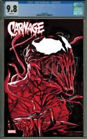 CARNAGE BLACK WHITE AND BLOOD #1 03/24/2021 GUARANTEED CGC 9.8 PRESALE MARVEL