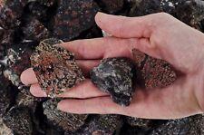 1 Pound of Snowflake Obsidian Rough - Volcano Glass - Cabbing, Tumble Rocks