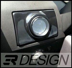 Vauxhall Zafira B MK2 Air Vent Pod Gauge Holder inc VXR Gloss Black