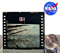 NASA 70MM KODAK Film Apollo 11 Moon Landing American Flag Photo Neil Armstrong!!