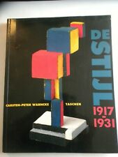 Buch, De Stijl,1917-1931, Carsten-Peter Warncke, Holländisches Bauhaus