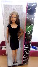 BARBIE BASICS COLLECTION 001 MODEL 12 NRFB - BLACK LABEL doll Mattel