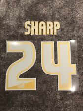 Scunthorpe United | Utd - Billy Sharp - Shirt Name & Number Set - 100% Genuine