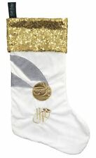 Golden Snitch Harry Potter Fleece Christmas Stocking 100% Licensed Product