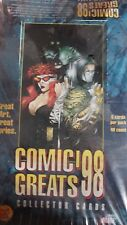 COMIC GREATS COLLECTOR CARDS 98 SEALED BOX (48PACKS)