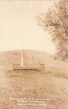 RP Postcard Grace and Monument Marcus Whitman Walla Walla, Washington~130607