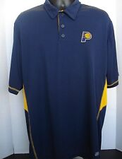 Indiana Pacers Navy Mens Polo Golf Shirt - New With Tags!