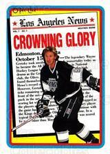 1990-91 Topps Tiffany #3 Wayne Gretzky