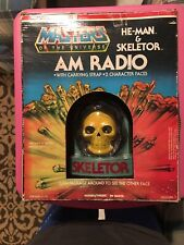 MOTU HE-MAN Skeletor AM Radio WORKS Vintage Masters Of The Universe
