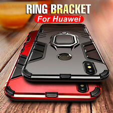 Shockproof Armor Ring Stand Magnetic Case Cover For Huawei P20 Pro Mate 20 Lite