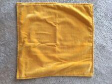 Pottery Barn Gold Velvet Pillow