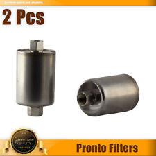 2X Fuel Filter Pronto Filters Fits ASUNA,SE