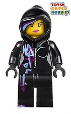 *NEW* LEGO Wildstyle with Hood Minifigure Minifig 70801 Movie Emmet Robo Robot
