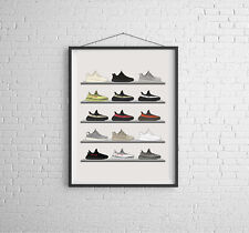 YEEZY collection artwork poster print