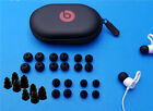 28 Spare Gels + Hard Case Kit for Beats BeatsX. Round & 3-Layers Ear tips Buds.
