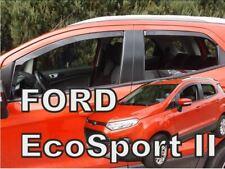 4 Deflettori Aria Antiturbo Ford EcoSport II 2013 in poi 5 porte