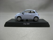 1:64 Kyosho FIAT 500 White Diecast Model Car Minicar Collection