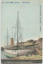 CARTE POSTALE / LE HAVRE-L'Atma yacht du Baron de Rotschild