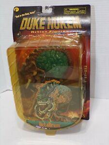 1997 ReSaurus Duke Nukem Action Figure Octabrain NOS