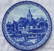 """11.8"""" Vintage 'Lente' Dutch Plate Wall Charger Delft Blue &White Delfts Blauw"""