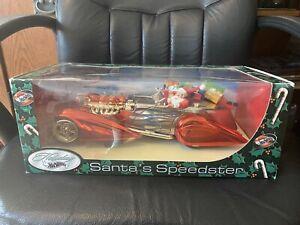 1:18 Scale Hot Wheels Holiday 2002 Diecast Santas Speedster Red