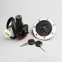 Ignition Switch Lock Fuel Gas Cap Key Set Fit for Kawasaki Ninja ZX7R ZX7RR ZX9R
