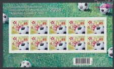 Suisse 2056 Folienblatt neuf 2008 Football europe (9063387