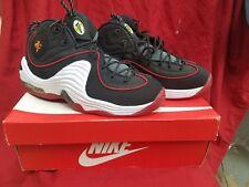 Nike Air Penny II Men's Basketball Shoes Sneakers Black White Sz 8.5 NEW!